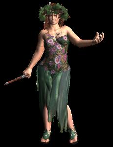 Significado de La Dama Verede El Tarot de las Hadas 231x300 Significado de La Dama Verde   El Tarot de las Hadas